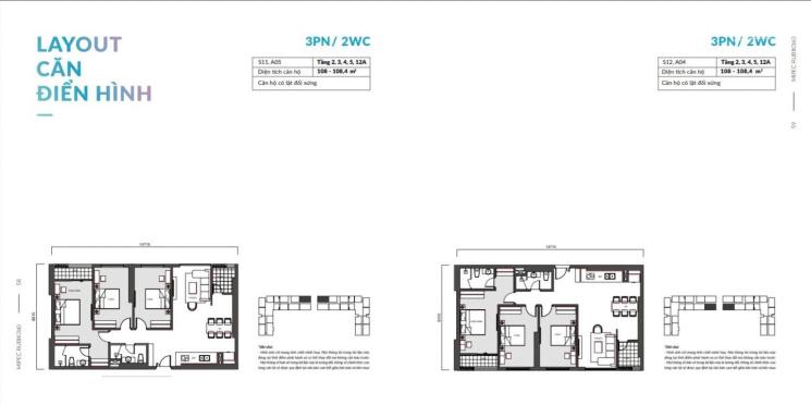 Bán căn A05 chung cư Mipec Rubik 360 - 122 Xuân Thủy, Hà Nội - 3 ngủ giá 4,7 tỷ full đồ ảnh 0