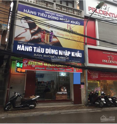 Nhà mặt phố Nguyễn Ngọc Nại gần ngã tư Nguyễn Ngọc Nại giao với Vương Thừa Vũ 4 tầng, mặt tiền 5,5m
