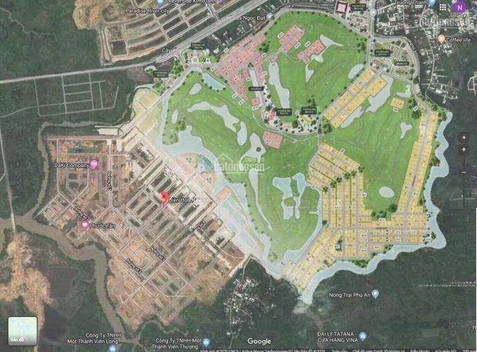 Bán nền biệt thự 240m2, 15tr/m2, ngay sông Đồng Nai, TP Biên Hòa