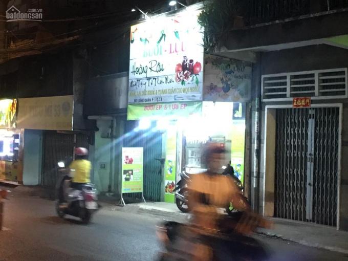 Cần Sang mặt bằng kinh doanh tầng trệt được ở lại, đường Lạc Long Quân, DT: 3x11m, giá rẻ: 6.5tr/th