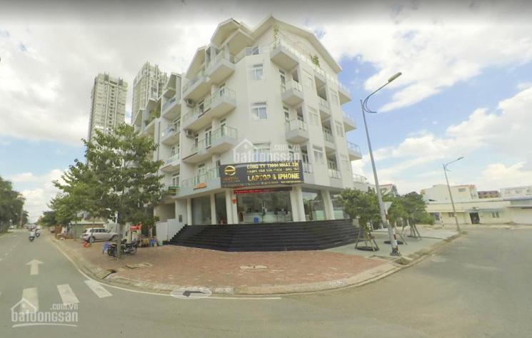 Cho thuê nhà góc 2 MT Nguyễn Thị Thập DT: 10x20m hầm 5 lầu, Quận 7 giá 230 triệu/th, LH 0908609012