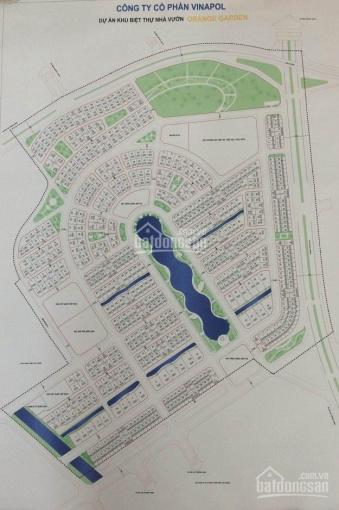 Bán lô biệt thự Vườn Cam SL02 nằm ngay mặt đường Lê Trọng Tấn 200m2, giá 38 tr/m2