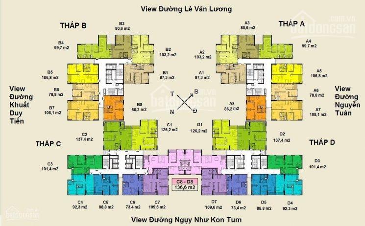 Liên hệ 0985814352 để nhận bảng giá các căn hộ giá ưu đãi của dự án Việt Đức complex