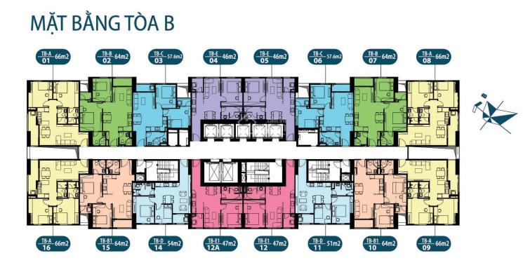 (0971866612) bán gấp CC Intracom Riverside, Đông Anh, CH 1806, DT 57.6m2, giá 21.5tr/m2 (bao phí)