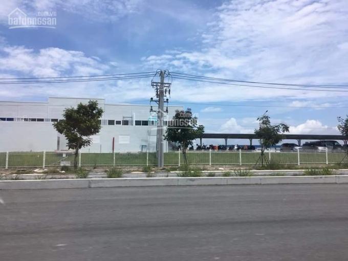 Bán 2 nền liền kề đối diện cổng trường trong KCN Becamex Chơn Thành, Bình Phước
