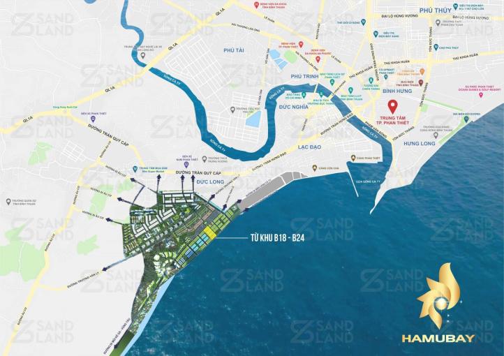 Booking suất nội bộ 20 nền vị trí đẹp nhất dự án Hamubay Phan Thiết. LH: 0916 286 139