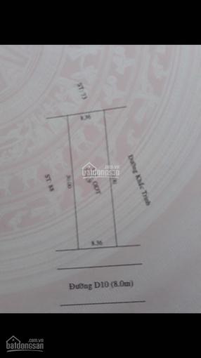 Bán nhà biệt thự phường Phú Tân, TP mới Bình Dương - gần ngay trung tâm TP mới - DT 8,36 x 30m