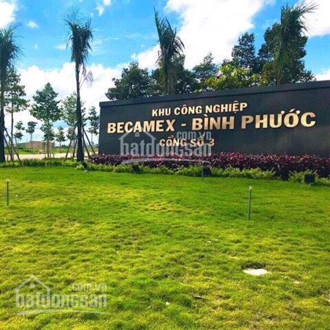 Đất khu dân cư công nghiệp Becamex Chơn Thành, Bình Phước, vị trí: Gần chợ, trường. LH: 0965084258