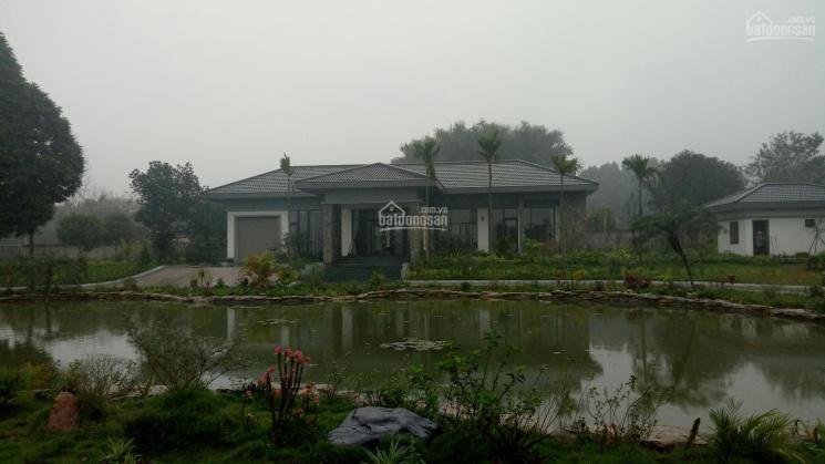 Bán Lương Sơn Hòa Bình 5200m2 khu nghỉ dưỡng sẵn ở đường bê tông to rộng xe 45 chỗ vào 0962792687