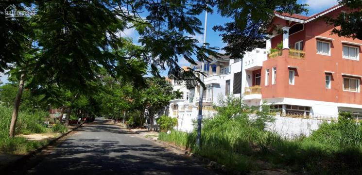 Bán đất biệt thự KDC Khang Điền, Phước Long B, Q9. Lô góc 10x25m, SHR view CV