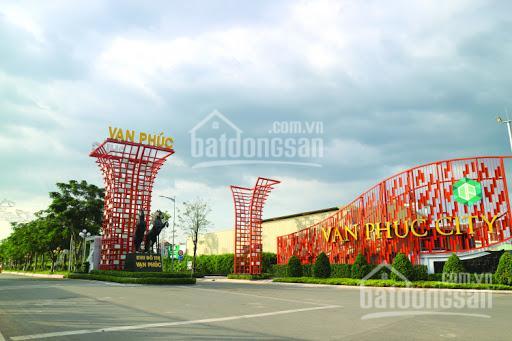 Hot bán nền đất cực đẹp tại KĐT Vạn Phúc City 5 x 23m, giá chỉ 70 triệu/m2 đường Nguyễn Thị Nhung