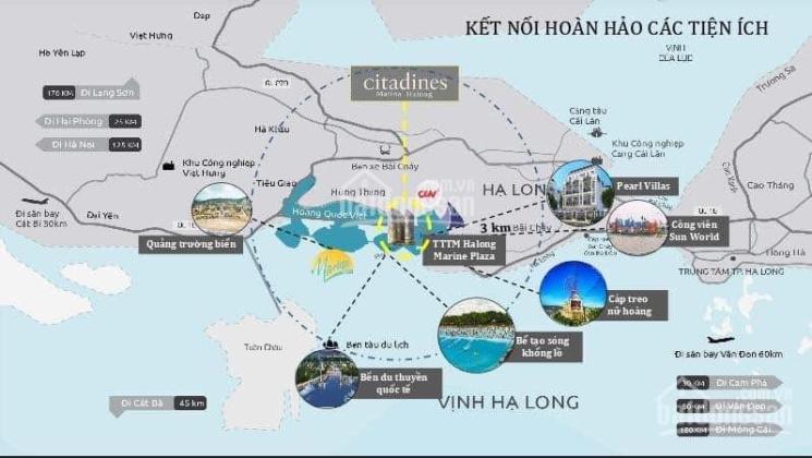 Căn hộ mặt biển nằm tại Bãi Cháy, trung tâm của thành phố Hạ Long. Giá 1.4 tỷ ảnh 0