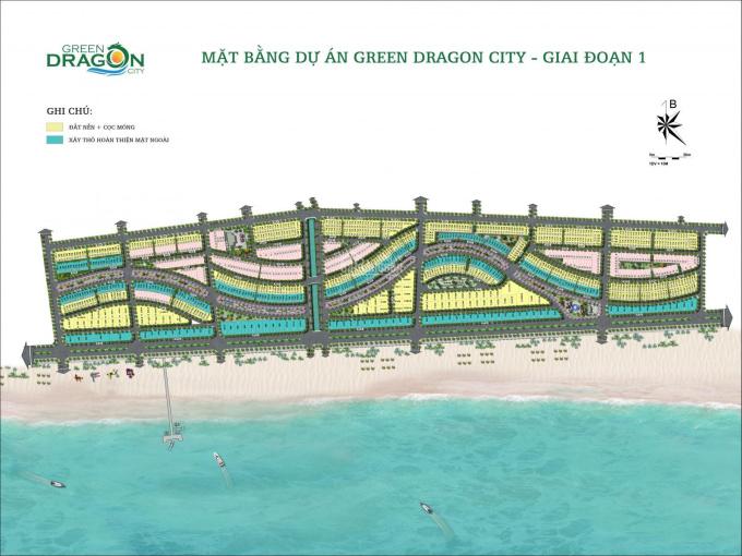 Chú ý mở bán đợt 1 dự án Green Dragon City - TTP Cẩm Phả, Quảng Ninh, LH: 0396.604.633