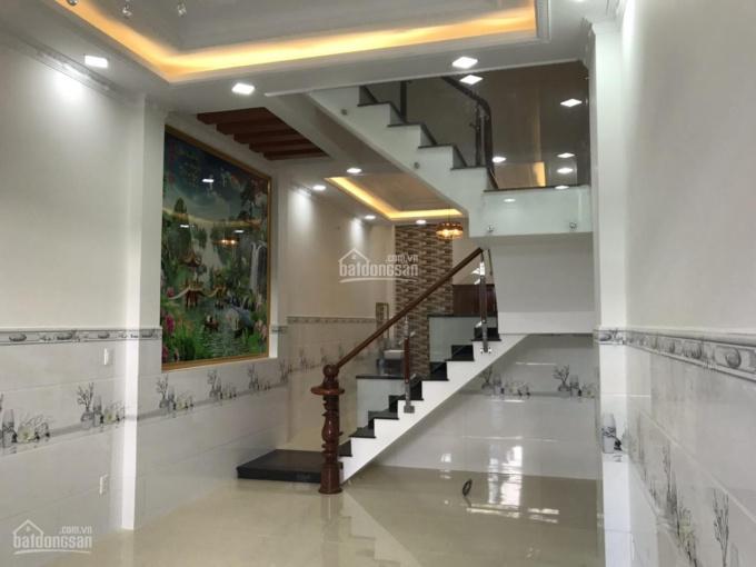 Bán nhà hẻm 5m đường số 8, P BHH B, Bình Tân 4x18m đúc 3 tấm nhà thiết kế đẹp LH 0938.083638