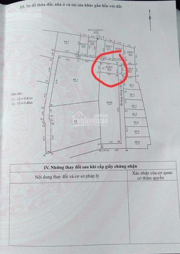 Bán nhanh mảnh đất lô góc, vuông vắn DT: 32,6m2, MT: 4m, Gia Quất, Long Biên, giá tốt nhất