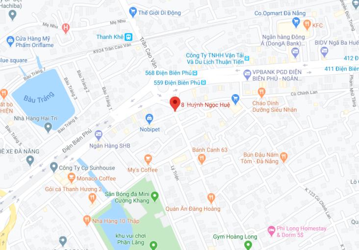 Nhà kiệt 8 Huỳnh Ngọc Huệ trung tâm thành phố, giá chỉ 1.55 tỷ