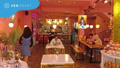 Cho thuê mặt bằng siêu đẹp đường Hoa Sứ, Phú Nhuận, DT 8x18m, khu thương hiệu sầm uất