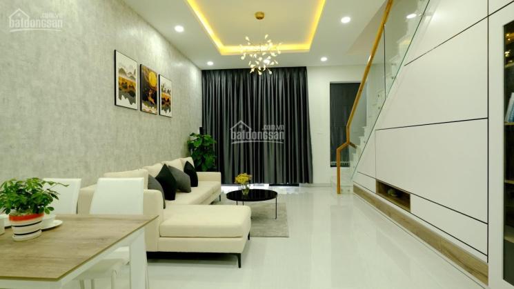 Nhà mới, 1T 1L, đường nhựa 18m, full nội thất, đ/d KCN Đại Đăng, KCN Sóng Thần, Bình Dương