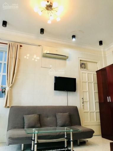 Cho thuê nhà CHDV 10 phòng full nội thất 4.5x18m, trệt, lửng, 4 lầu, giá 45tr/th