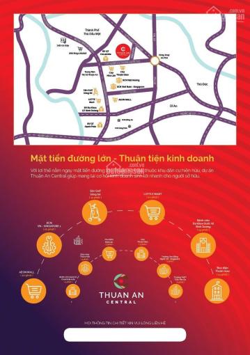 Bán nhanh 10 nền Thuận An, TT 700 triệu nhận sổ đỏ - cách chợ hòa lân 500, LH: 0906830988