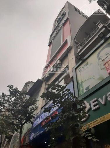 Nhà mặt phố Lạc Trung, Hai Bà Trưng, vỉa hè rộng,  cho thuê 50tr/th, 76m2, 6T, 23 tỷ, 0989690313.