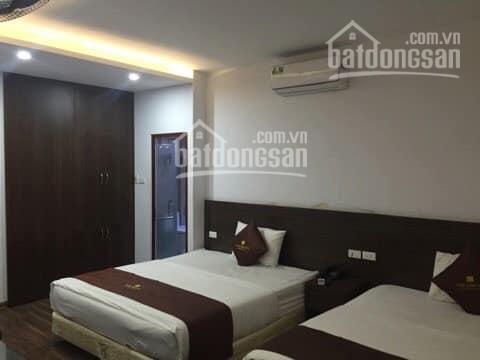 Chính chủ bán khách sạn mặt ngõ 24 Kim Đồng, 55m2, 6 tầng, 15 phòng, mặt tiền 7m, giá 12.8 tỷ