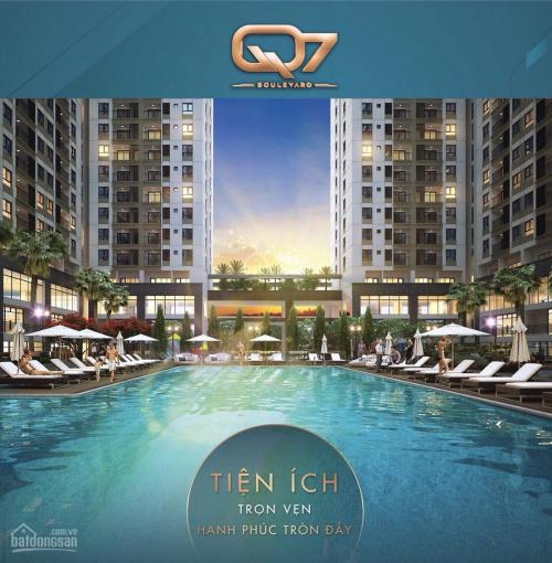 Bán căn hộ Q7 Boulevard ngay Phú Mỹ Hưng , Tặng Full bộ nội thất, giá chỉ 38tr/m2, chiết khấu 2-18%