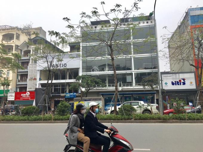 Cho thuê nhà MP 41 Yên Lãng, Thái Hà, diện tích: 180m2 x 3 tầng. MT 12m, 120tr/th, 0936432279