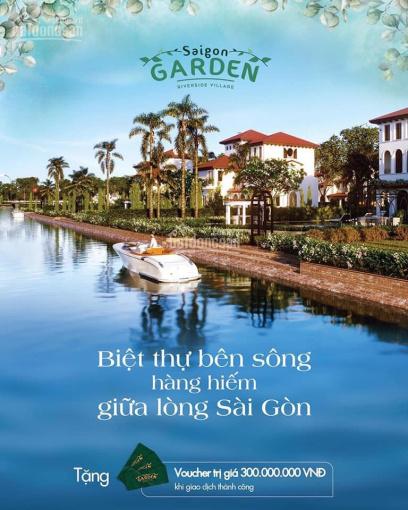 Biệt thự Sài Gòn Garden Riverside Q9, giá 21tr/m2 tiện ích 5*, chiết khấu 2 - 18%, CĐT: 0901959506