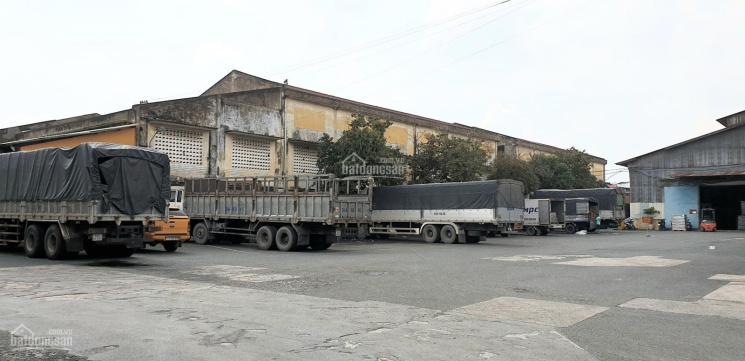 Cho thuê kho 500m2 và 700m2 đường xe container, không ngập nước, kho cao, có bảo vệ bên ngoài ảnh 0