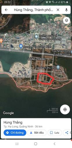 Chính chủ bán đất khách sạn tại bán đảo 2, Hùng Thắng, Bãi Cháy, Hạ Long ảnh 0