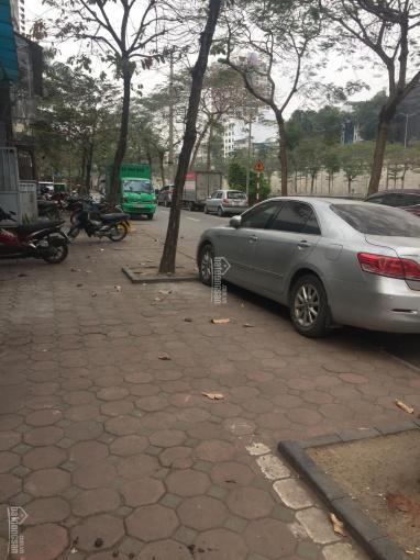 Bán mảnh đất mặt ngõ rộng 3 ô tô tránh nhau phố Hoàng Quốc Việt, diện tích 218m2, mặt tiền 8m