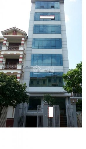 Cho thuê tòa nhà Nguyễn Cơ Thạch 133m2 x 7 tầng, 1 hầm trung tâm xuất khẩu lao động, du học