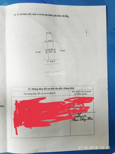 Bán đất đấu giá khu Ngõ Cổng, Kiến Hưng, Hà Đông - 50 m2. Giá 3,25tỷ