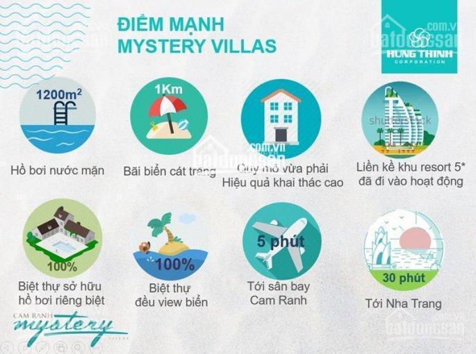 Bán Cam Ranh Mystery Villas giá chủ đầu tư, chiết khấu 17%, cam kết cho thuê 8%/ năm full nội thất ảnh 0