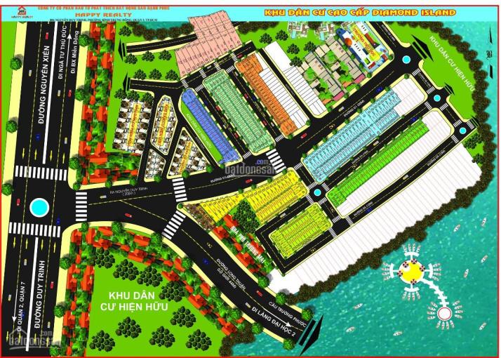 Bán đất nền dự án Đảo Kim Cương Diamond Island Q9, giá từ 25tr/m2 ưu đãi giảm 100tr/lô, 0703680093