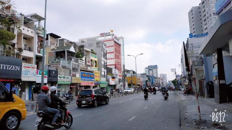 Bán nhà phố đường Hoàng Văn Thụ, trệt, 4 lầu, có thang máy, giá 11 tỷ 2, LH 0913773636