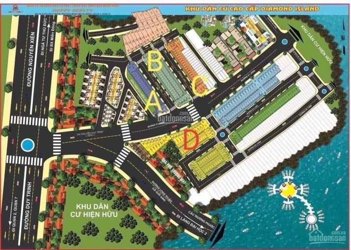 Bán đất Đảo Kim Cương, đường Long Thuận, phường Trường Thạnh Quận 9, giá ngộp Bank