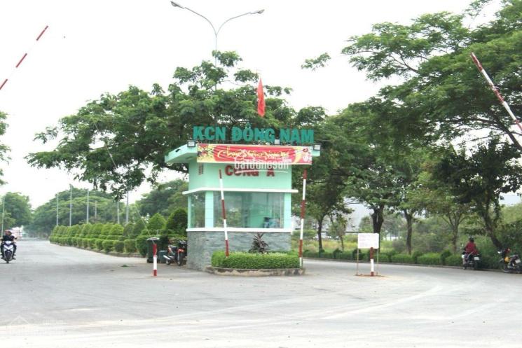 Đất chính chủ đối diện cổng A KCN Đông Nam Củ Chi 674m2/300m thổ cư, giá 5,5 tỷ