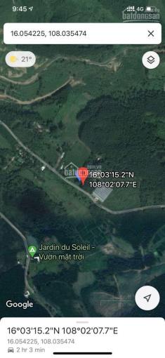 Bán 10 hecta đất trồng cây (có 400m2 đất ở) thuộc đường nhựa vành đai xã Hòa Ninh, Hòa Vang, 27 tỷ