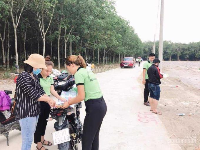 Đất nền sổ sẵn 5x35mx50m2 thổ cư tại khu phố 2 thị trấn Chơn Thành, Bình Phước