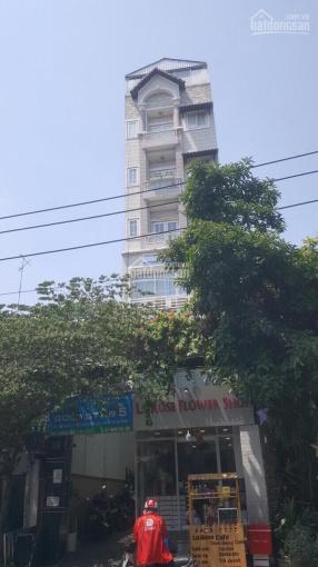 Bán tòa nhà văn phòng Trường Sơn, P15, Q10: 5x22m, hầm trệt 6 lầu, HĐT 80tr, chỉ 31.5 tỷ