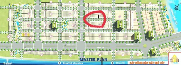 Bán đất dự án Sentosa Riverside 2, đối diện thiên đường Cổ Cò, ngay chợ điện dương. Giá 1,35 tỷ