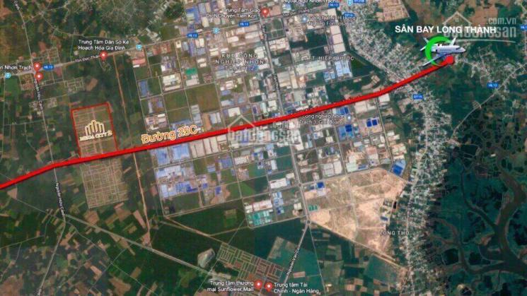 Mua bán đất Mega City2, Nhơn Trạch mặt tiền đường 25C đang làm giá tốt nhất khu vực chỉ từ 6,6tr/m2