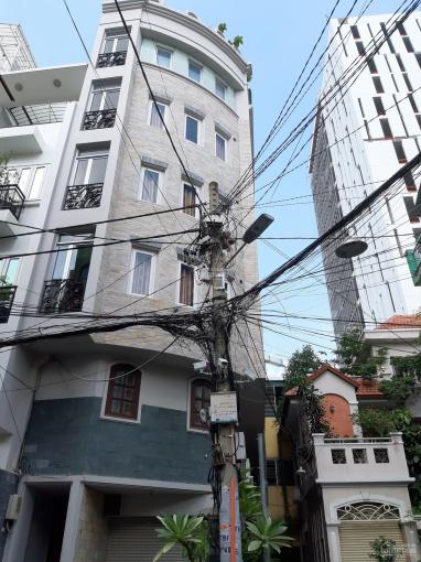 Bán gấp nhà mặt phố đường Huỳnh Tịnh Của, P8, Q.3, 1 hầm, 6 lầu, giá 58 tỷ