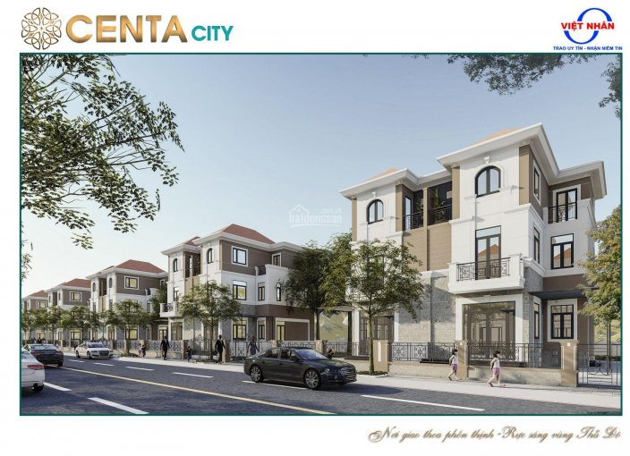 Sở hữu ngay biệt thự song lập chỉ từ 1.3 tỷ tại KĐT cao cấp Centa city, giá CĐT. LH: 0936981996