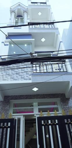 Bán dãy phố 4 tấm 3.5x10m, P16 Q8 cách Metro Bình Phú 2km, giá chỉ 2.25 tỷ - 0902331665