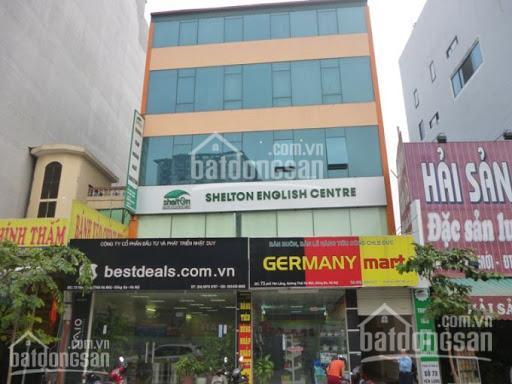 Cho thuê nhà mặt phố Yên Lãng - Hoàng Cầu Đống Đa cực đẹp 100m2 x 3 tầng mặt tiền 12m cực đẹp