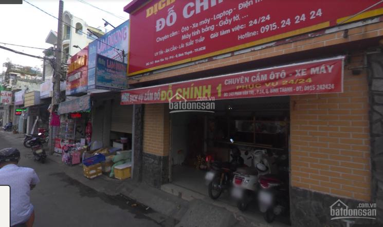 Cho thuê mặt bằng trệt ngang lớn 6m đường Phan Văn Trị gần Nơ Trang Long -Lê Quang định giá 20tr/th