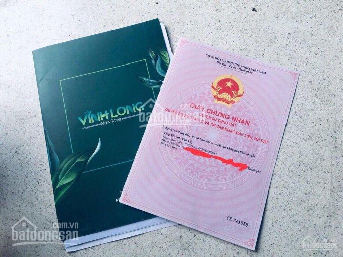 Bán LK.1.8.67 sổ đỏ full thổ cư ngay UBND & chợ Vĩnh Long dân cư hiện hữu, MT rộng 30m. 0938642969 ảnh 0
